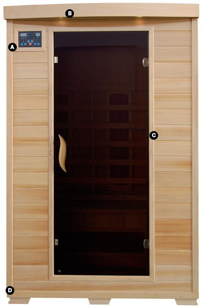 coronado 2 person infrared sauna with ceramic heaters pc pools Sauna Heaters infrared sauna wiring diagram