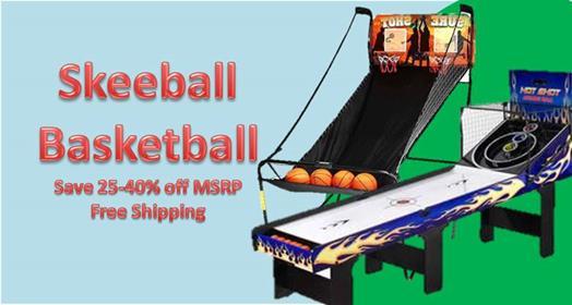 Skeeball & Basketball Sale