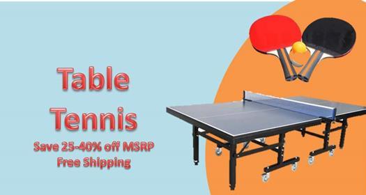 Table Tennis Sale