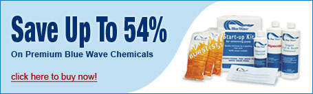 Save up to 54% on Blue Wave Pool Chemicals