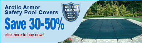 Safety Pool Covers - Save 30-50%