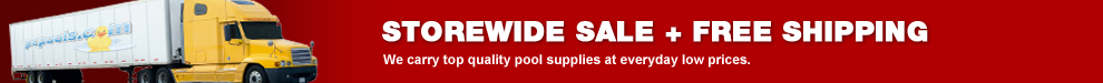 Storewide Pool Supply Sale