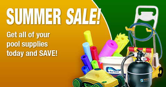 Summer Pool Supply Sale