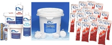 Pool Season Chemical Supply Packages