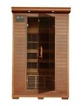 YUKON - 2 PERSON CEDAR CARBON INFRARED HEATWAVE SAUNA™