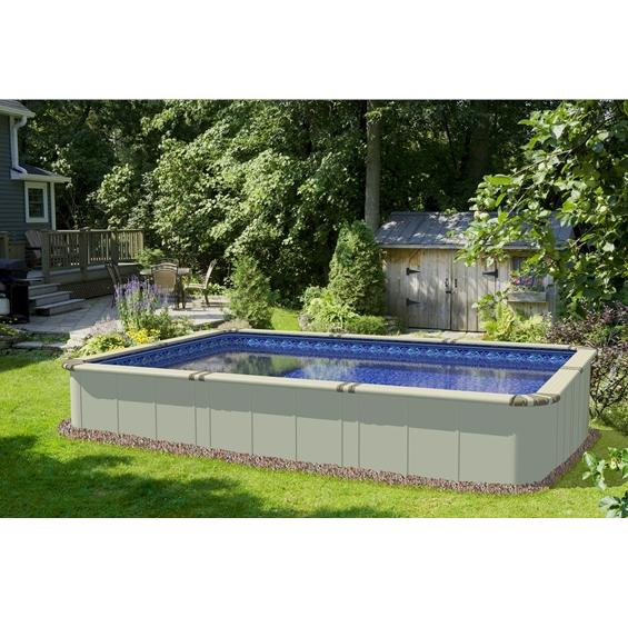 EZ Panel Rectangular Above Ground Pools