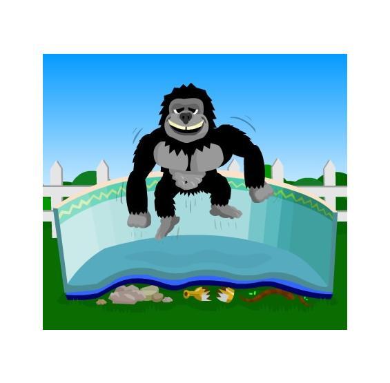 Gorilla Pad Pool Bottom Floor Padding Pc Pools