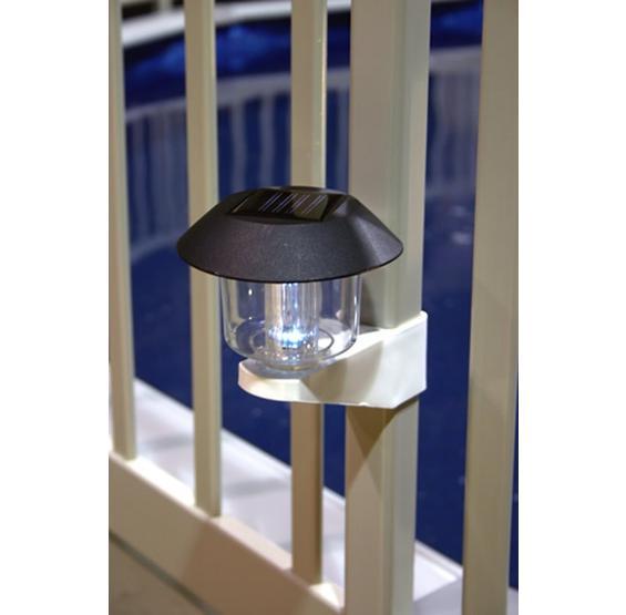 Solar Fence Light With Bracket Pc Pools