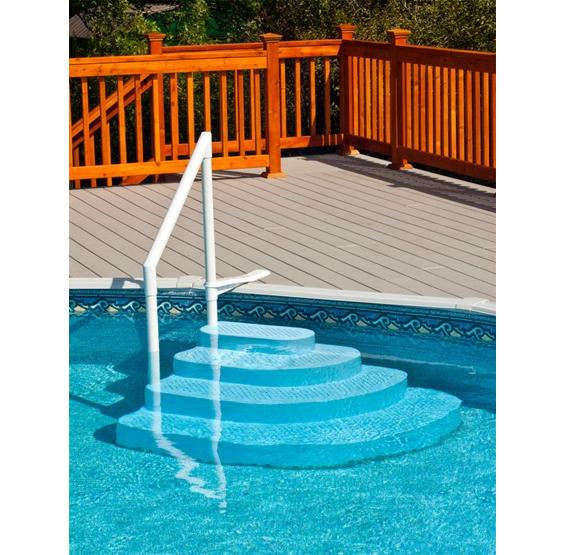 above ground pool steps pool ladders finest wedding cake pool step