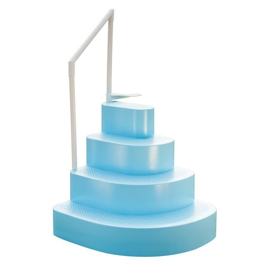 Finest wedding cake pool step pc pools - Above ground wedding cake pool steps ...