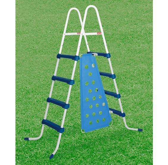 a frame pool ladder instructions