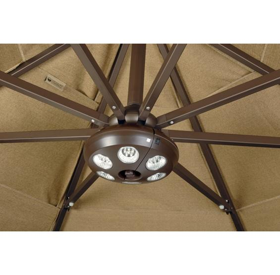 outdoor living patio umbrellas patio umbrella light 36 leds