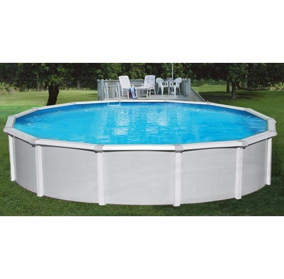 Samoan above ground pool pc pools for Large above ground swimming pools