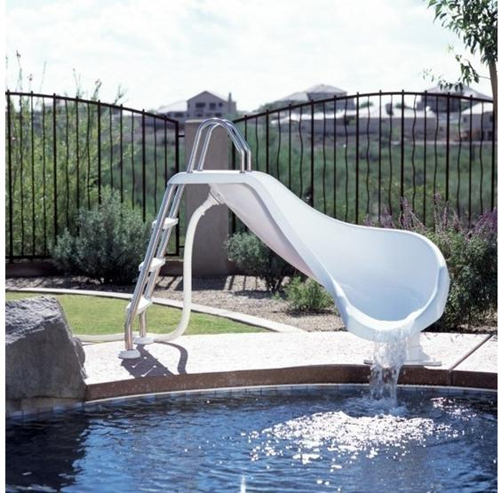 Zoomerang Pool Slide Pc Pools