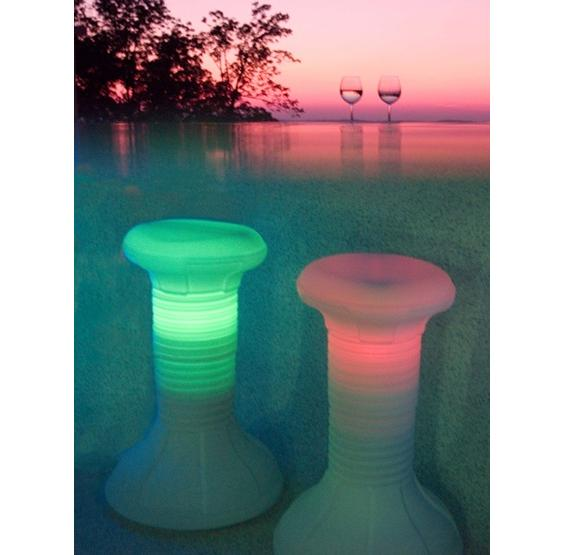Led Pool Stool Pc Pools