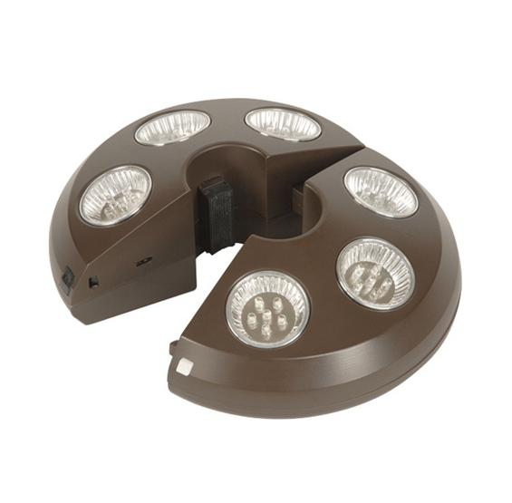 patio umbrella light 36 leds pc pools