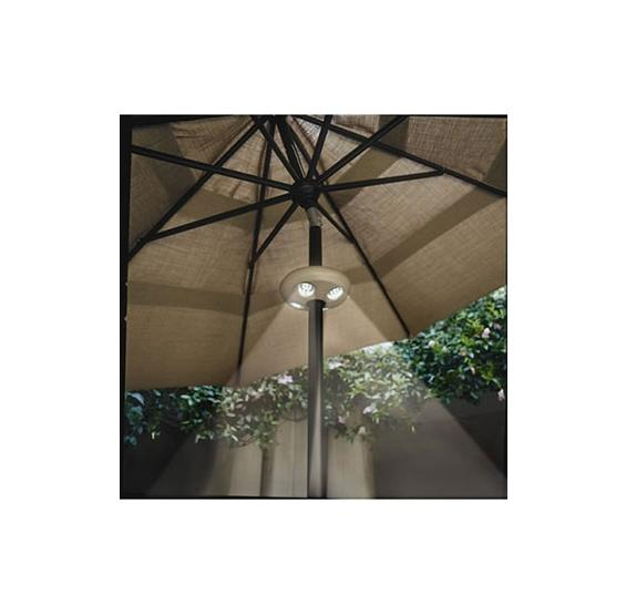 patio umbrella light 24 leds pc pools