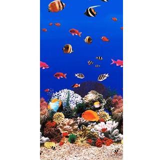 Aquarium Tile Overlap Pool Liner