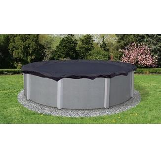 Winter Pool Cover - Above Ground Pool - 8 year warranty (navy)