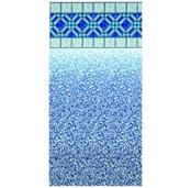 Blue Diamond Beaded Pool Liner Heavy Gauge