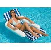 Sunchaser Padded Pool Floating Lounger