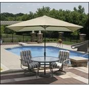 Adriatic Market Patio Umbrella (6.5'x10' Rectangle)