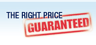 The Right Price Guaranteed