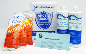 Winterizing pool chemical