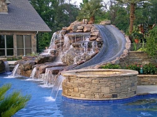 in ground pools with waterfalls. No Matter Where You Live In The United States, Escaping Heat Of Summer Is A Must. Ability To Flee By Taking Dip Cool Swimming Pool Ground Pools With Waterfalls L