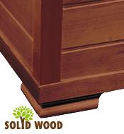 wood construction cedar