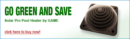 Go Green and Save on Pool Equipment