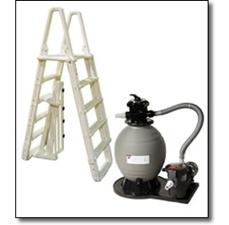 Above Ground Pool Equipment Packages