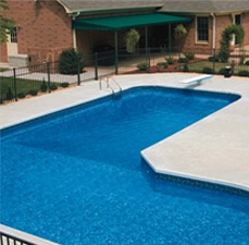 Pool liners above ground pool liners swimming pool for Top of the line above ground pools