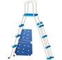Blue Wave® Cobalt Steel Wall Pool Package - 15-ft Round 48-in Deep