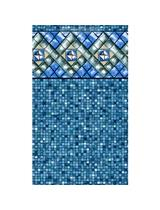 Bermuda Tile Unibead Pool Liner Heavy Gauge