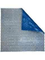 Blue Wave 14mil Solar Cover Rectangle Blue Silver