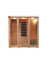 Sonoma 4-Person Hemlock Infrared Sauna with 9 Carbon Heaters