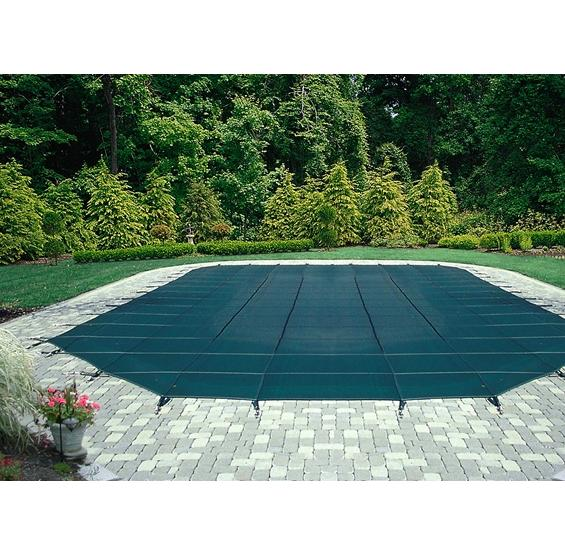 Safety Pool Cover Mesh 12 Year Warranty Arctic Armor Pc