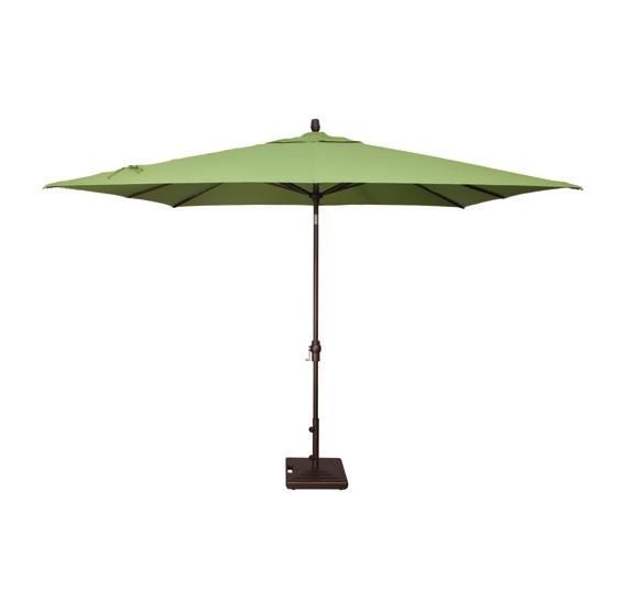 Caspian 8 X 10 Rectangular Auto Tilt Market Umbrella