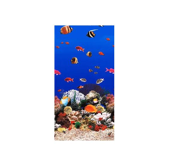 Aquarium Tile Overlap Pool Liner