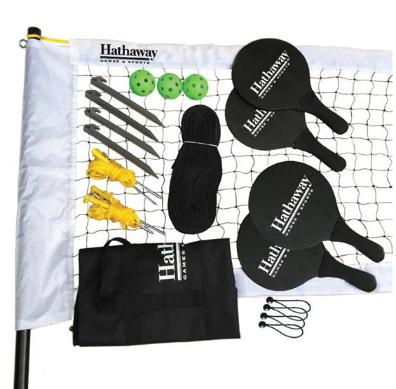 Multi-Court Pickleball/Paddleball Combo Game Set