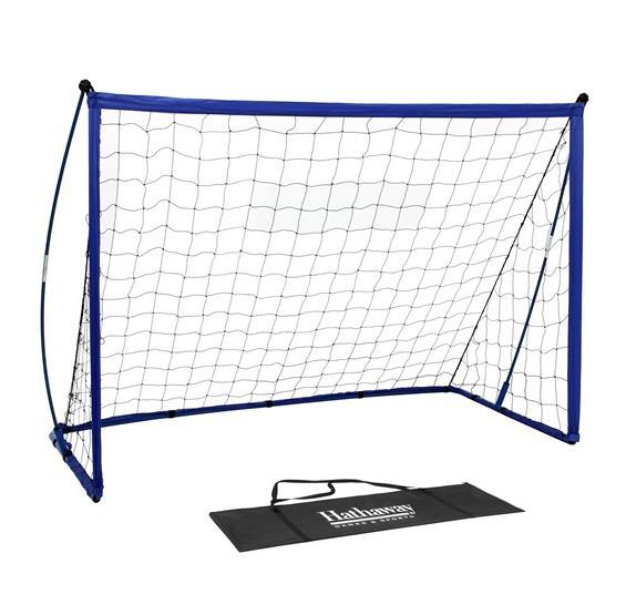 Striker Portable Soccer Goal System with Net, Black Carry Bag