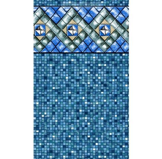 Bermuda Tile Unibead Pool Liner