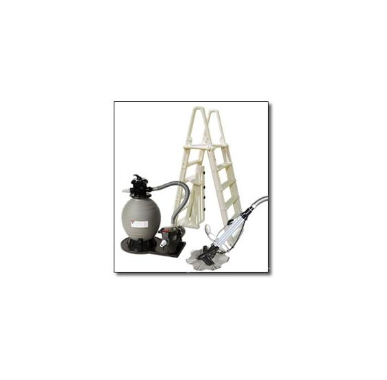 Premium Pool Equipment Package with Sand Filter