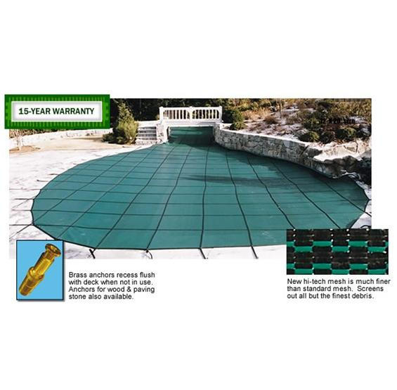 Safety Pool Covers Arctic Armor 20 Year Warranty Mesh