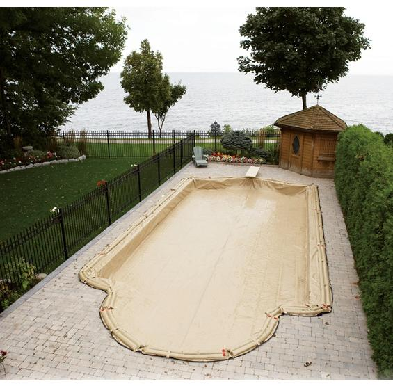 In Ground Winter Pool Covers Armor Kote Pc Pools