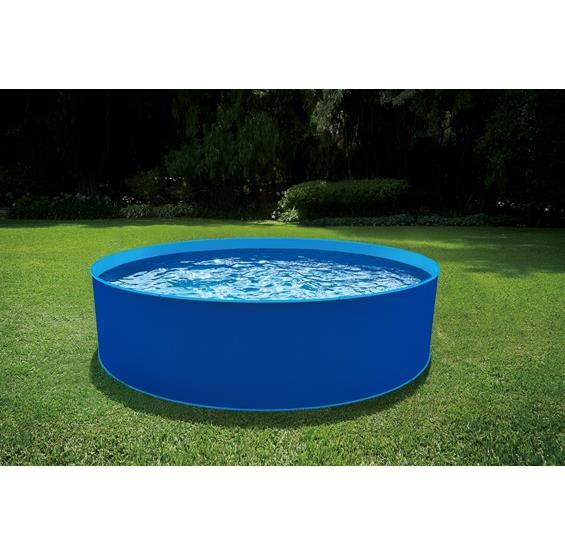 Blue Wave® Cobalt Steel Wall Pool Package