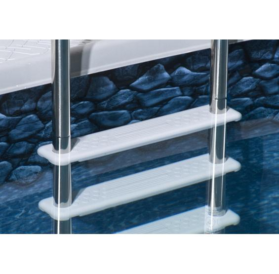 Reverse Bend In-Pool Ladder