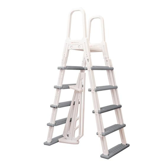 Above Ground Pool Decks For Sale >> Heavy-Duty A-Frame Ladder | PC Pools