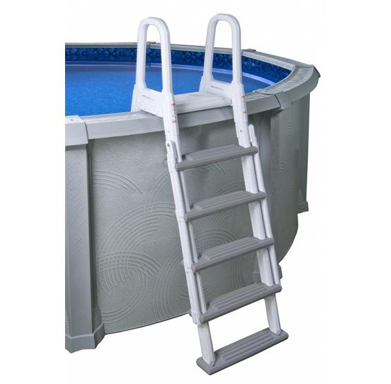 Heavy duty a frame ladder pc pools for Heavy duty swimming pool ladders